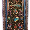 Africa | 'Tree of Life with African Animals'. Kaross Textiles; Hand embroidered from the Shangaan tribe of Limpopo Province, South Africa.: