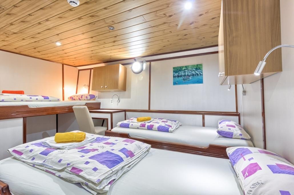 Barco Harmonia - cabine tripla