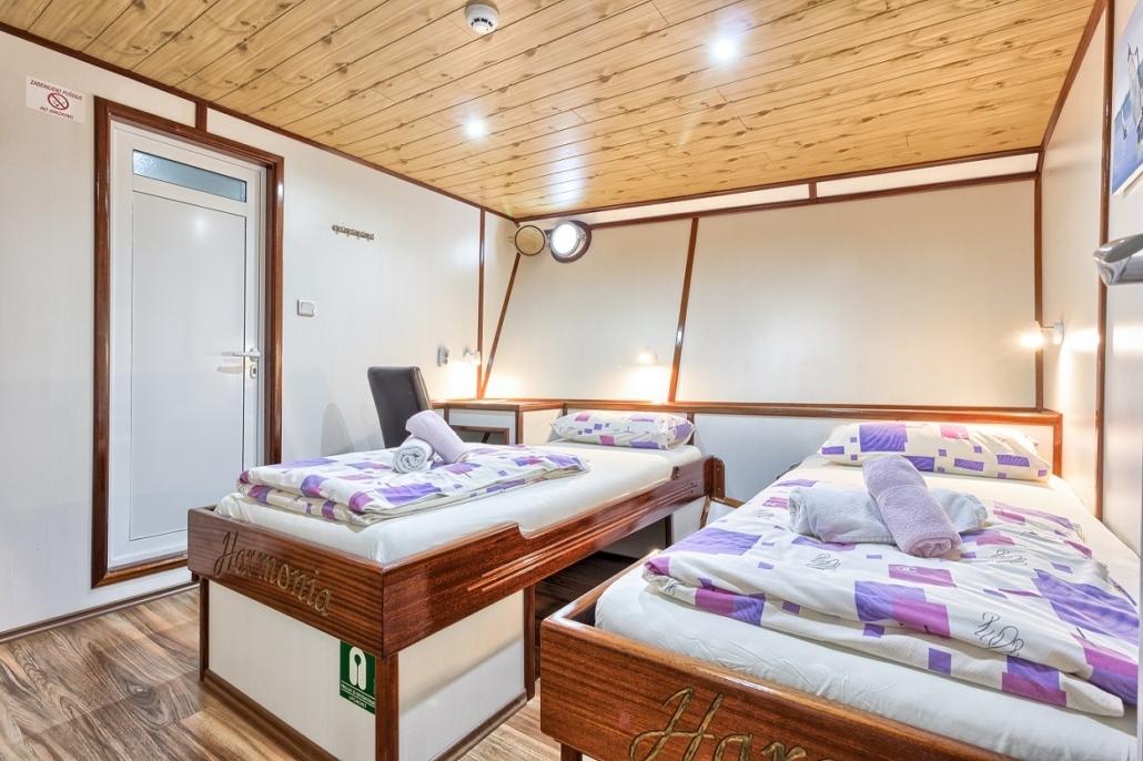 Barco Harmonia - cabine twin