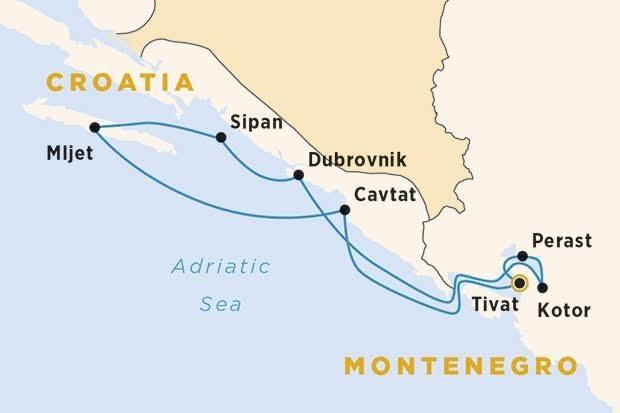 Gulet Cruises in Croatia and Montenegro   Explore Montenegro